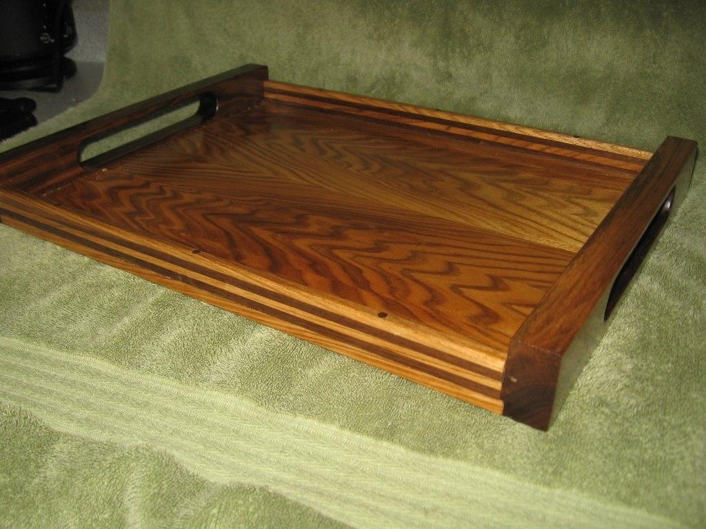 plateau de service par micno sur l 39 air du bois. Black Bedroom Furniture Sets. Home Design Ideas