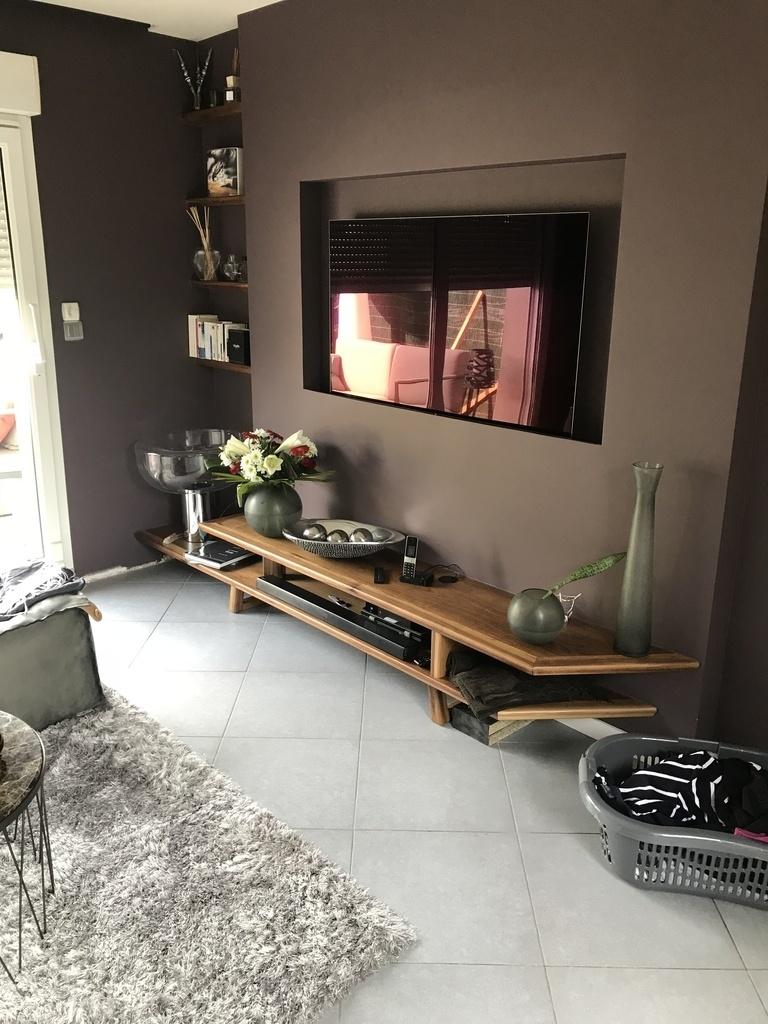 Meuble Tv De Salon meuble tv salon par rikos68 sur l'air du bois