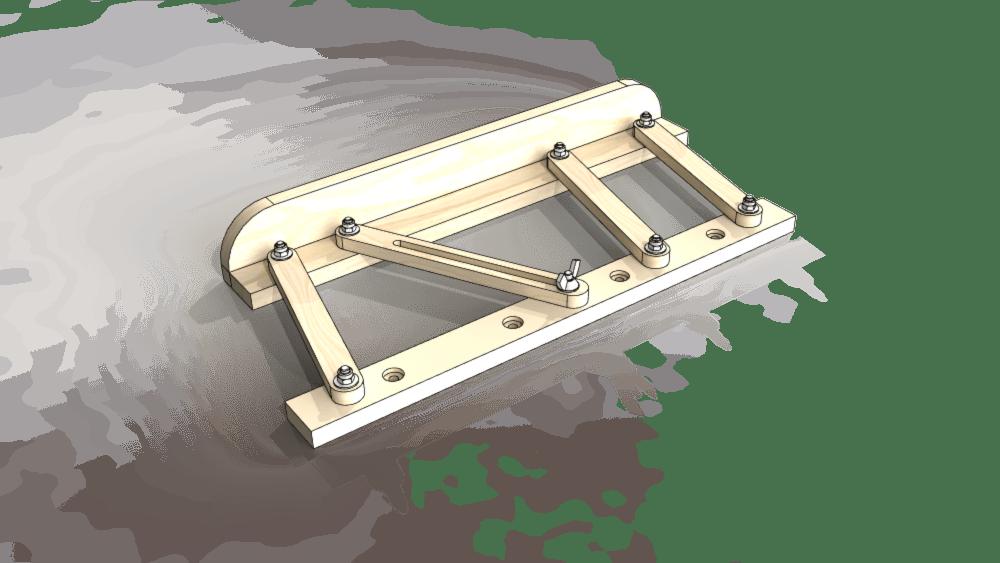 pas pas guide parall le pour ma table de sciage diy par tipaustewoodworking sur l 39 air du bois. Black Bedroom Furniture Sets. Home Design Ideas