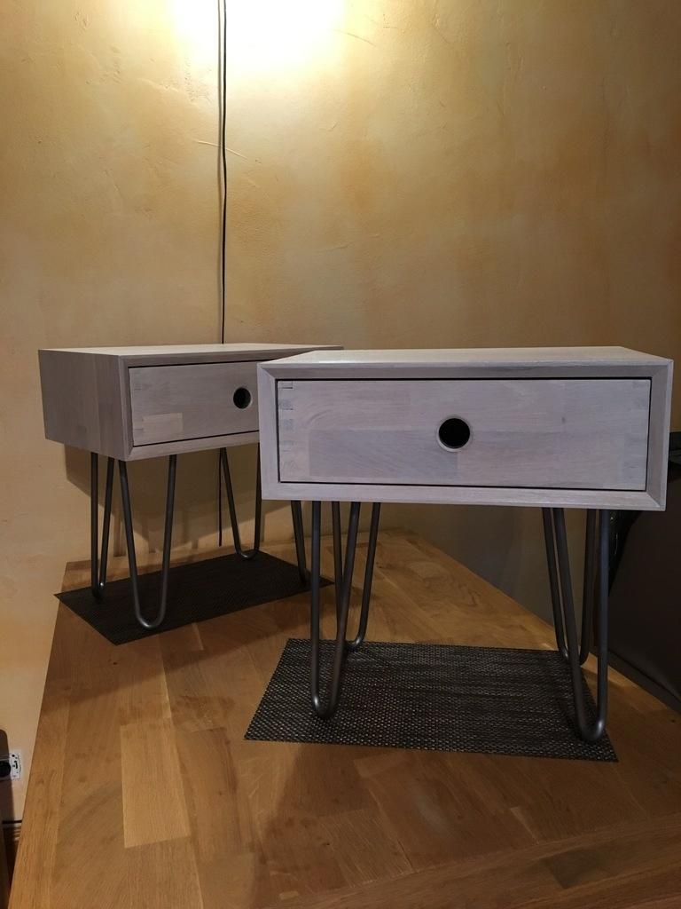 tables de chevets par matt56 sur l 39 air du bois. Black Bedroom Furniture Sets. Home Design Ideas