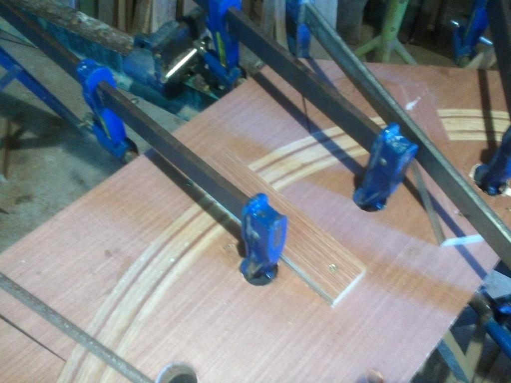 Table basse par fabien sur l 39 air du bois - Assemblage lamelle colle ...