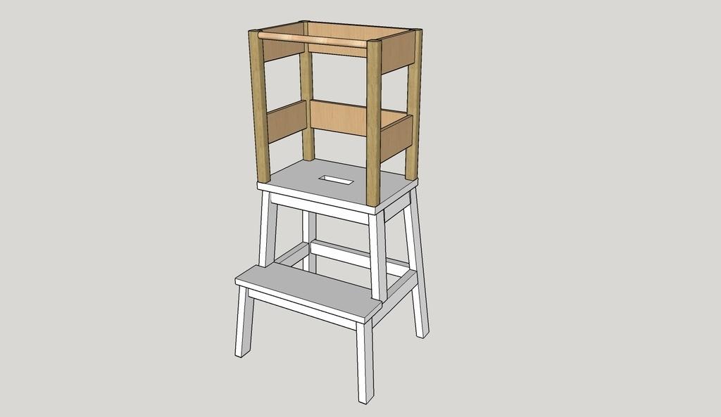 Plan Tour D Apprentissage à Partir D Un Tabouret Ikea Par