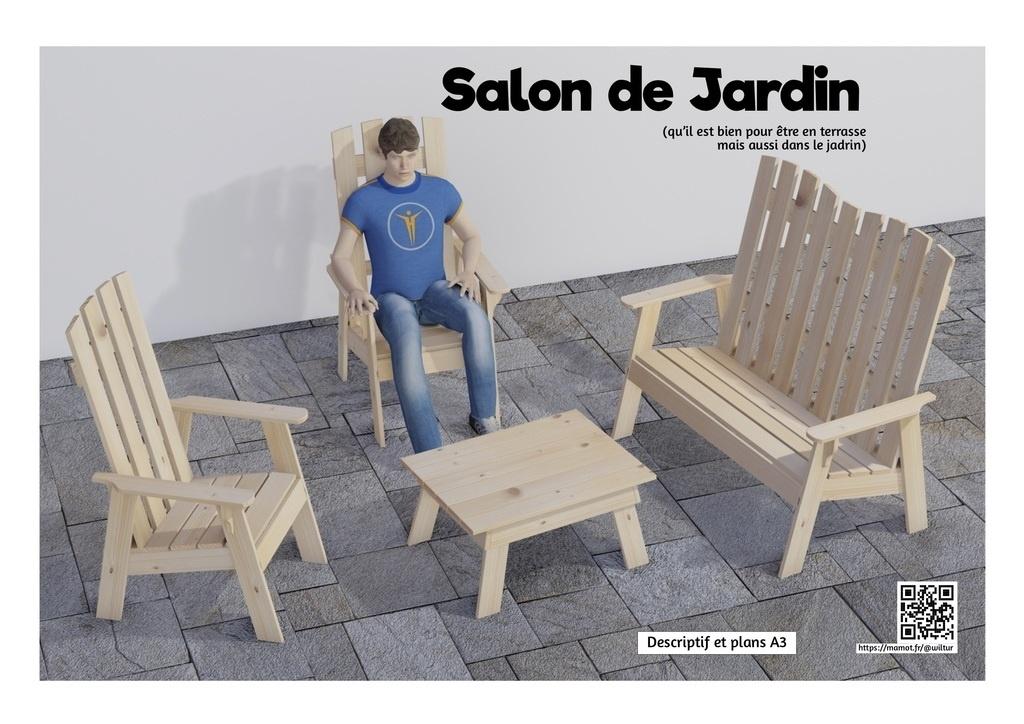 Plan] Salon de Jardin par Wiltur sur L\'Air du Bois