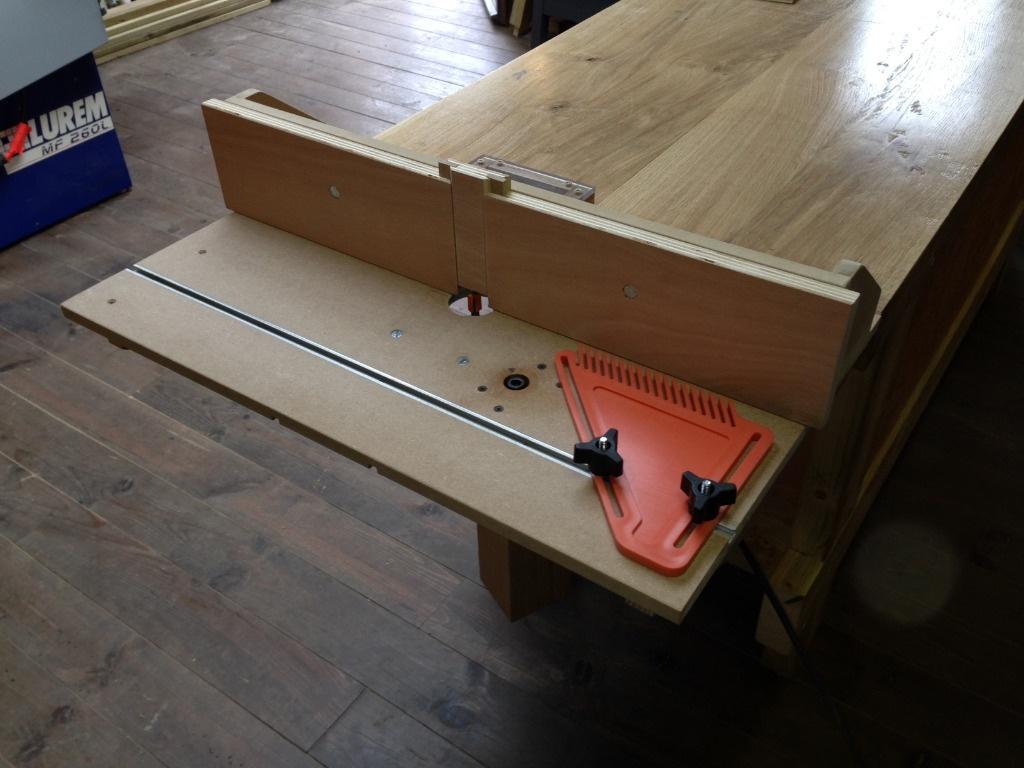 table de défonceuse