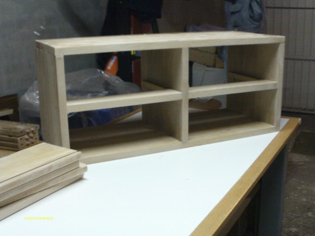 Meuble de rangement dans l 39 atelier par toff62 sur l 39 air du bois - Fabriquer meuble de rangement ...
