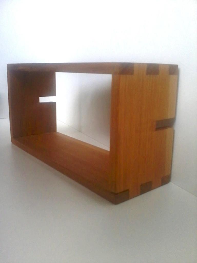 Biblioth u00e8que modulable en bois massif par Sarahlalala sur L'Air du Bois # Bibliothèque Modulable Bois Massif