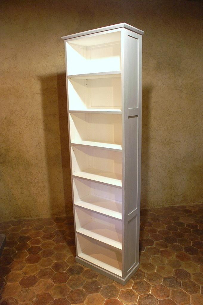 Impressionnant Bibliotheque Profondeur 20 Cm #15: Voici Une Petite Bibliothèque à 6 étagères De 2,20 M De Hauteur Pour 60 Cm  De Largeur Et 26 Cm De Profondeur. Elle Est Entièrement Constituée En ...