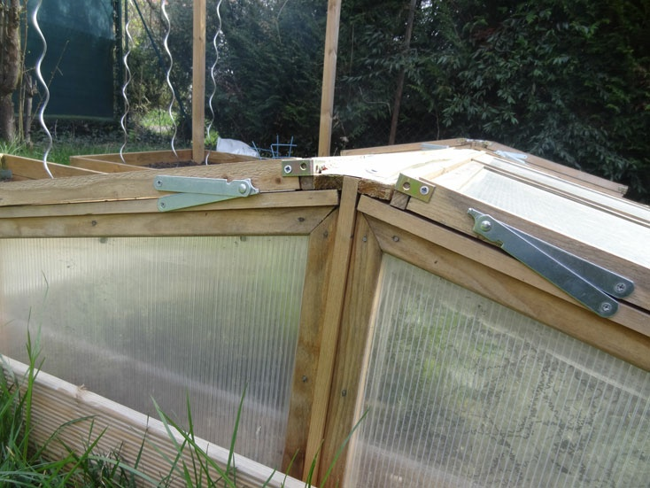 chassis de jardin en bois