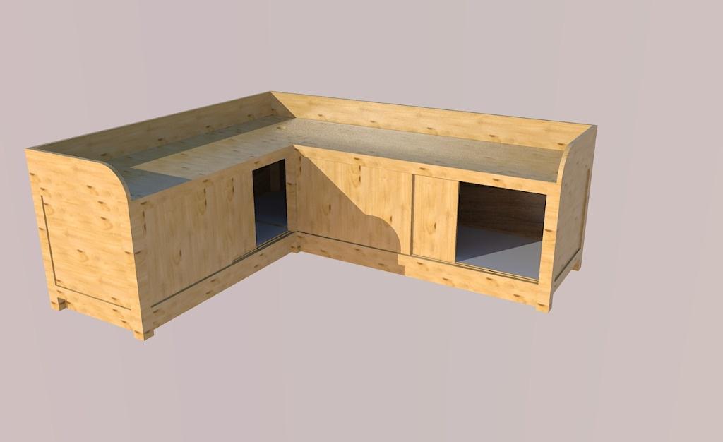 Plan meuble chaussure par mokozore sur l 39 air du bois for Meuble gratuit