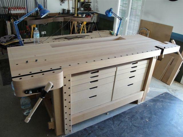 etabli d montable par cedali sur l 39 air du bois. Black Bedroom Furniture Sets. Home Design Ideas