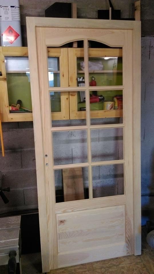 Fabrication d une porte en bois - Renover une porte en bois ...