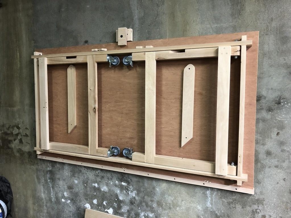 Table Pliante Contre Mur table d'assemblage pliable par jérôme weber sur l'air du bois