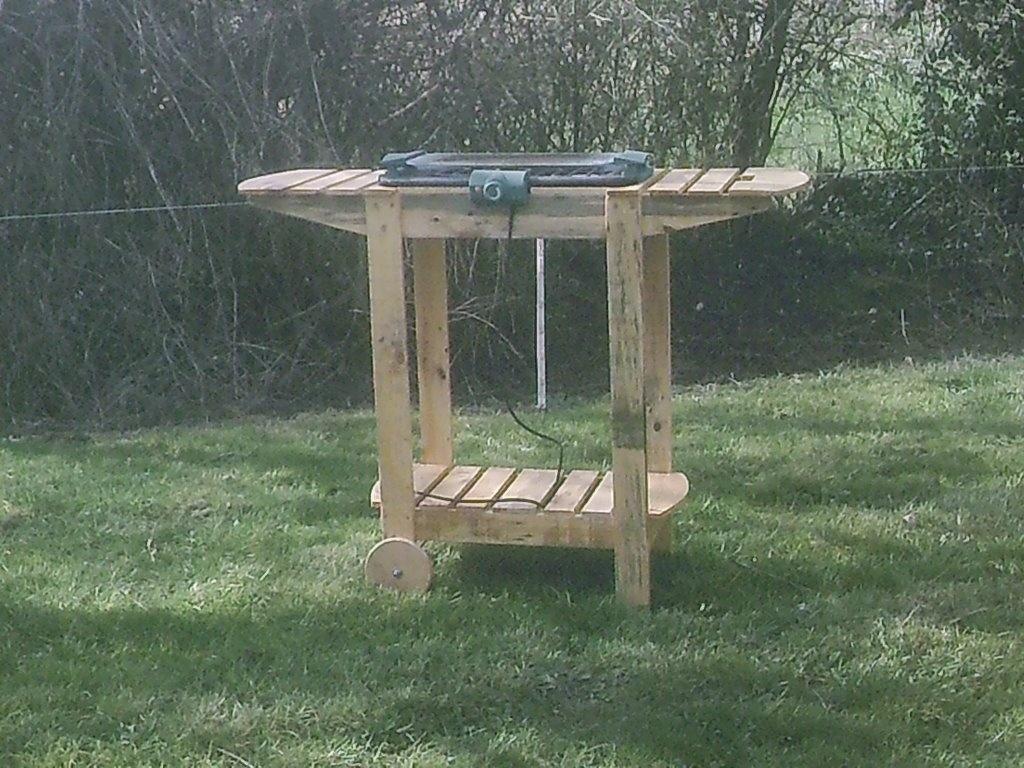 meubles de jardin et interieur en bois de palettes par emile587 sur l 39 air du bois. Black Bedroom Furniture Sets. Home Design Ideas