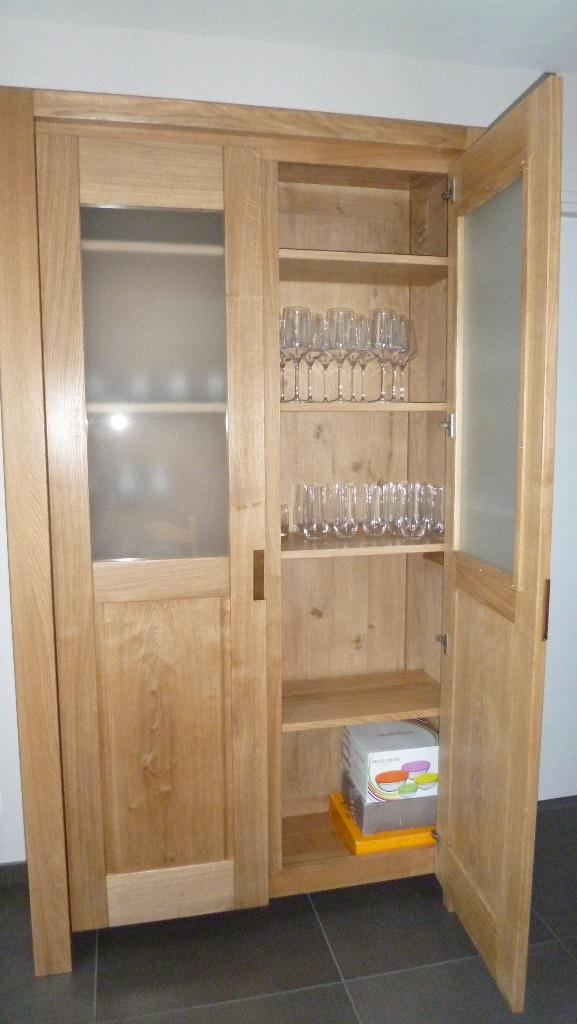 vaisselier contemporain par xavier sur l 39 air du bois. Black Bedroom Furniture Sets. Home Design Ideas