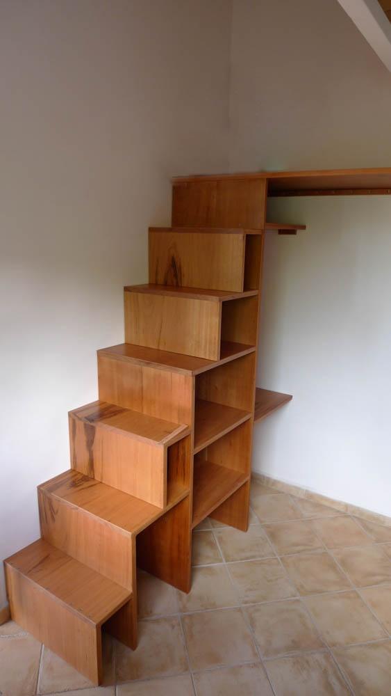 Escalier mezzanine par hundertaker sur l 39 air du bois - Escalier pour mezzanine ...