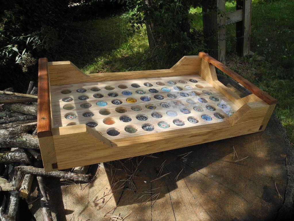 plateau de service par peiot sur l 39 air du bois. Black Bedroom Furniture Sets. Home Design Ideas