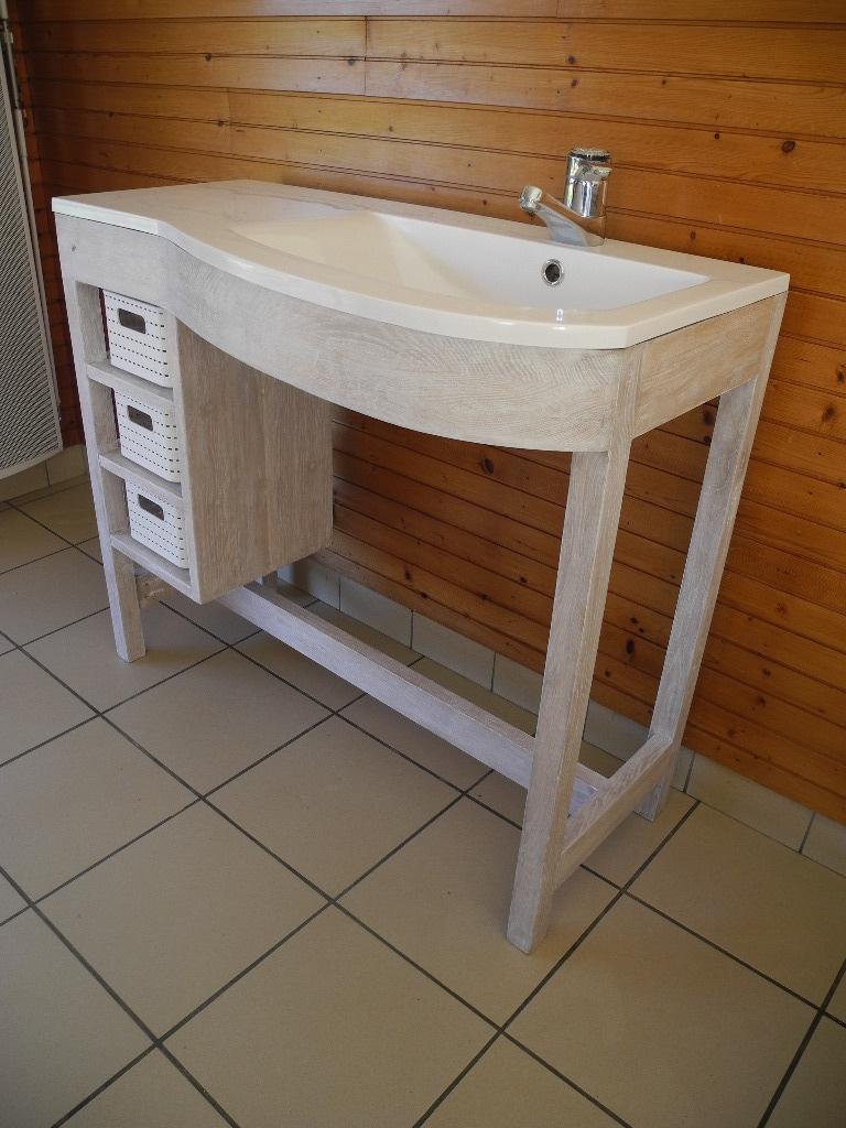 Un petit meuble vasque pour 28 images tuto fabriquer for Petit meuble vasque