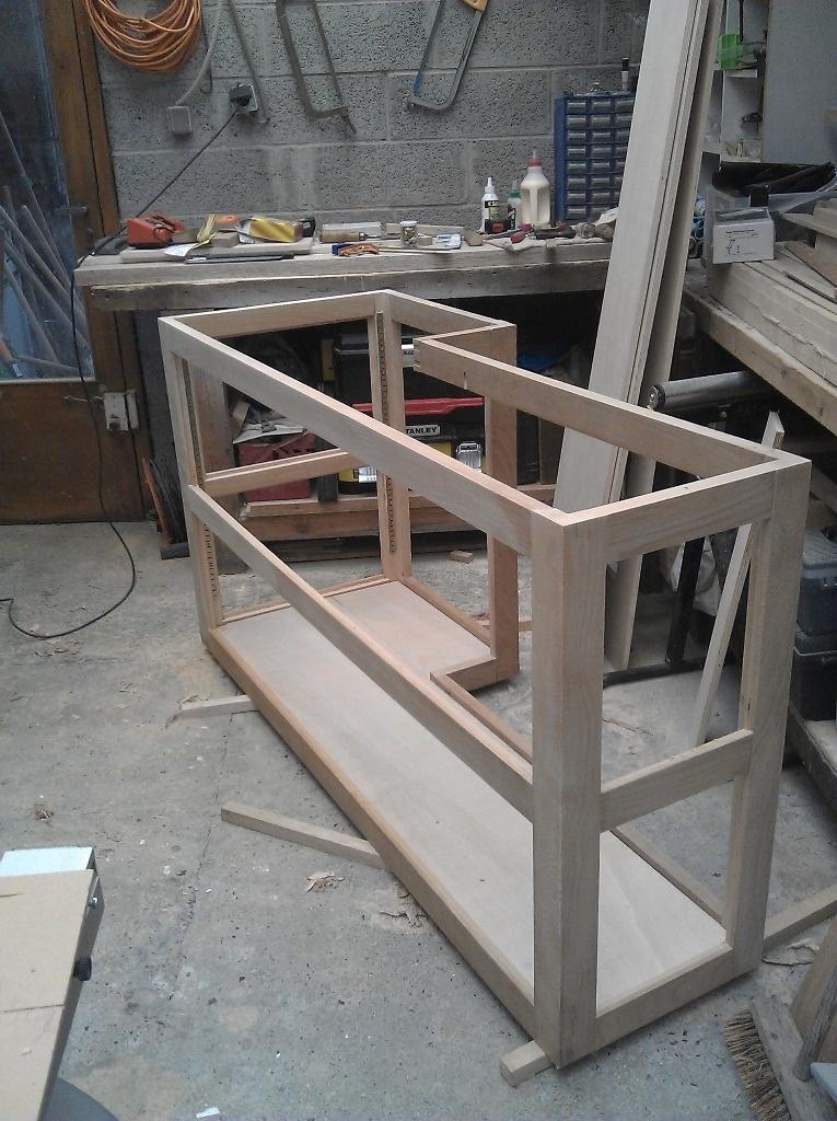 meuble s paration cuisine ouverte par lemony sur l 39 air du bois. Black Bedroom Furniture Sets. Home Design Ideas