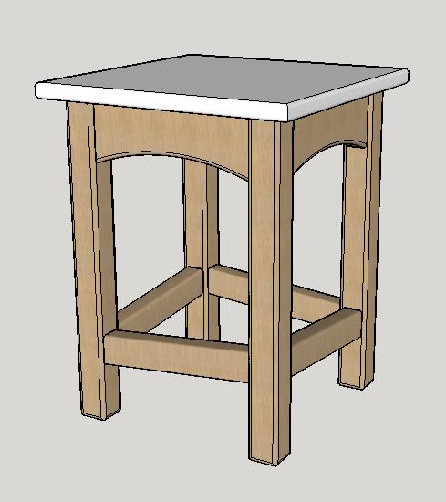plan tabouret de cuisine par matthieudesbois sur l 39 air du bois. Black Bedroom Furniture Sets. Home Design Ideas