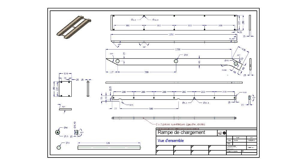 plan rampe de chargement par xavier sur l 39 air du bois. Black Bedroom Furniture Sets. Home Design Ideas