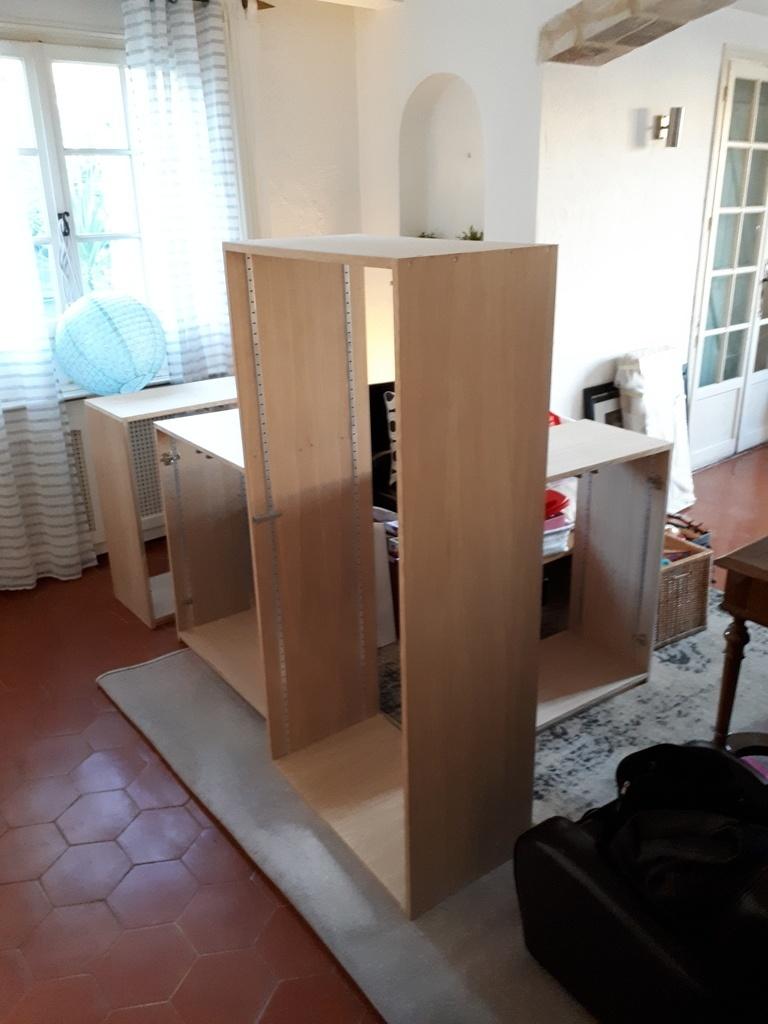 Meuble de rangement pour la salle de jeu par cousin06 sur l 39 air du bois - Meuble de rangement salle de jeux ...