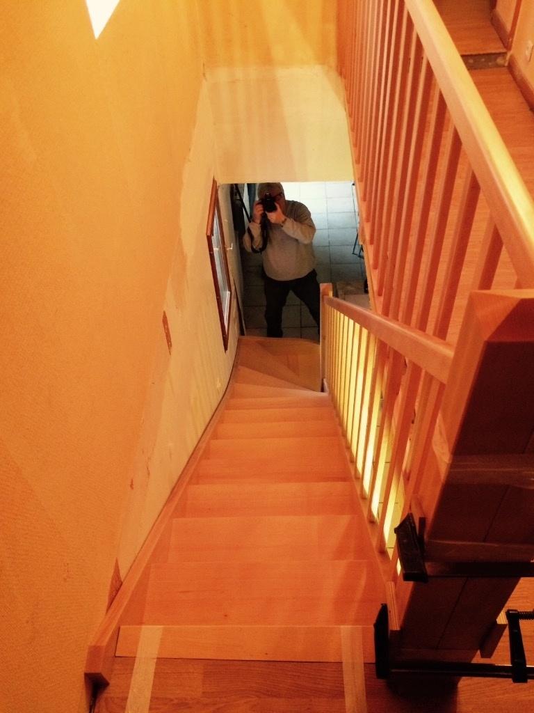 escalier par j r my lipreau sur l 39 air du bois. Black Bedroom Furniture Sets. Home Design Ideas