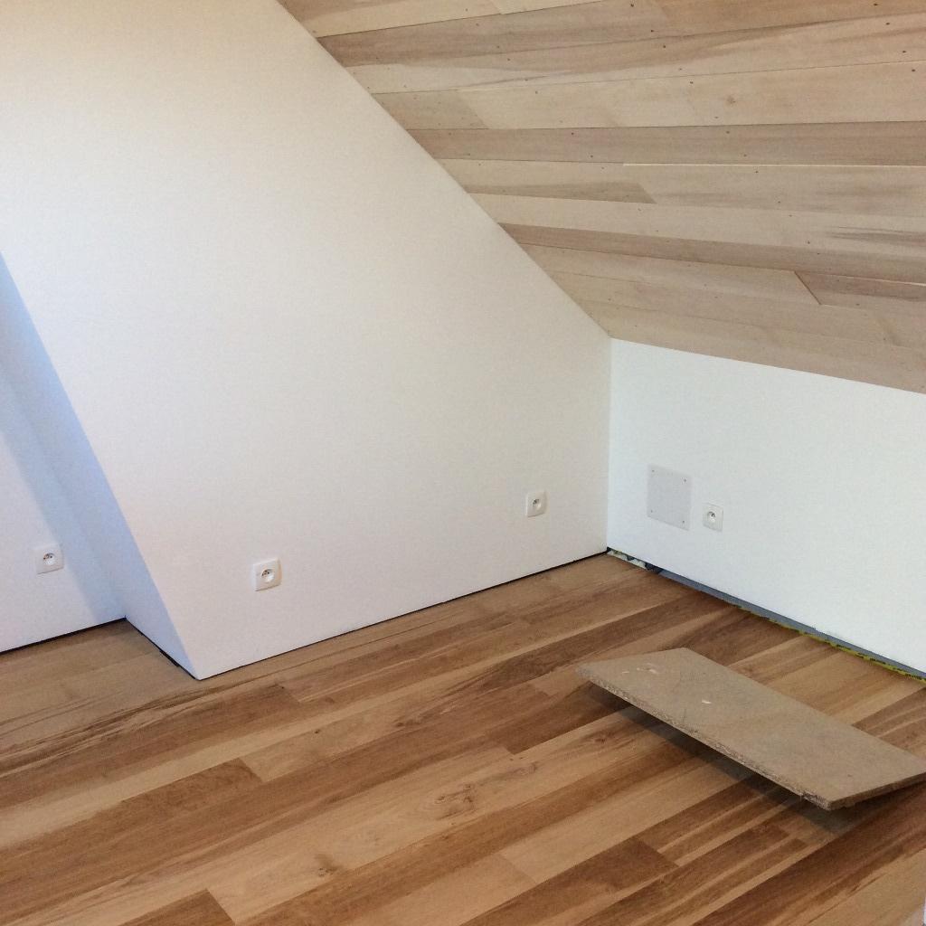 am nagement d 39 un comble dominante bois par wil sur l 39 air du bois. Black Bedroom Furniture Sets. Home Design Ideas
