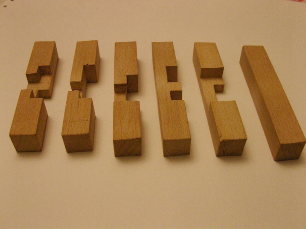 Casse t u00eate croix de charpentier par sanglier sur L'Air du Bois # Casse Tete En Bois Solution Croix De Charpentier