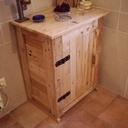 Fabrication d'un petit meuble en bois de récup
