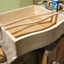 Réalisation d'une coiffeuse au tiroir galbé