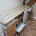 Du bois de frêne pour une cuisine