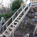 Fabrication d'un escalier sans plan et sans aucune côte au feeling normal koi lol