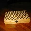 Boîte à tisanes façon boîte de jeux