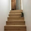 Escalier pour descendre au sous sol