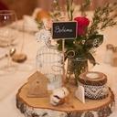 Un centre de table pour notre mariage bohème