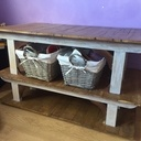 Petite table en bois de palette