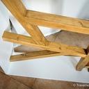 Un sapin de Noël design en bois