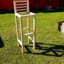 4 Chaises hautes