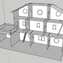 Maison de Poupée, découpe laser