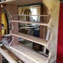 Rénovation et création d'une ancienne étagère
