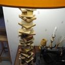 Lampe en chutes d'atelier