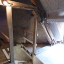 Reprise de charpente et escalier