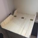 Table à langer rabattable