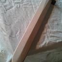 Epée en bois pour ma nièce