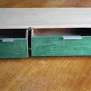 Boite a deux tiroirs