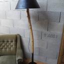 Lampe sur branche de buis