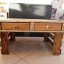 Table de salon en palette de récup