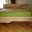 Cadre et tête de lit.