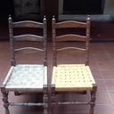 Rénovation de vieille chaise
