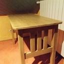 Table en chêne traditionnelle